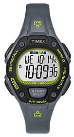 Timex Ladies Ironman Chronograph Gray Digital Sport Watch