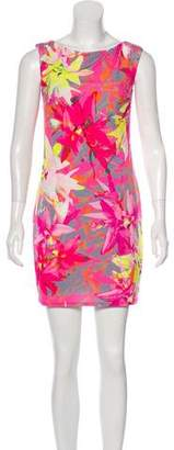 Trina Turk Floral Sleeveless Mini Dress