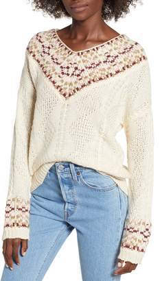 Moon River V-Neck Sweater