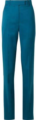 Calvin Klein Wool Slim-leg Pants - Cobalt blue