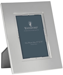 Waterford Lismore Bead Silver Frame 8x10