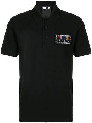 Versus logo polo shirt
