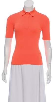 Alexander Wang Neon Polo Top