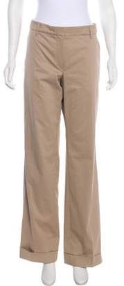 Brunello Cucinelli Mid-Rise Wide-Leg Pants