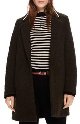 Scotch & Soda Textured Stripe-Collar Jacket