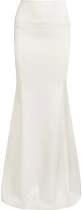 Aries Satin Maxi Skirt - White