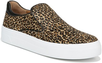 Via Spiga Velina Slip-On Genuine Calf Hair Platform Sneaker