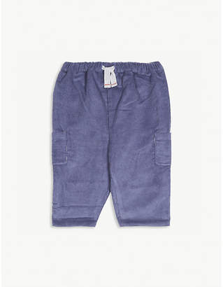 The Little White Company Cotton corduroy trousers 0-24 months