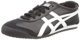 Onitsuka Tiger by Asics Onistuka Tiger Mexico 66, Unisex Adults' Low-Top Sneakers, Black ( 9001)