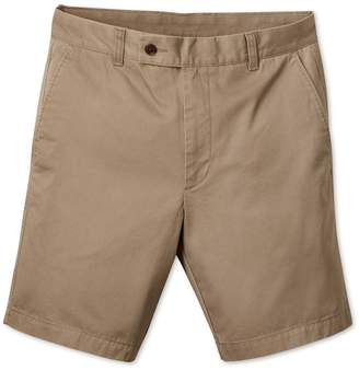 Tan Chino Cotton Shorts Size 30 by Charles Tyrwhitt
