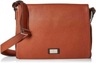 Bruno Magli Men's Bicolor Messenger Bag