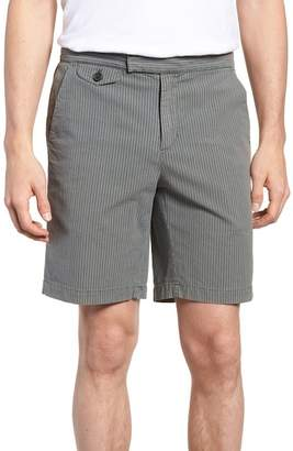 Michael Bastian Garment Dyed Flat Front Shorts