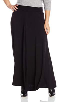 Amy Byer Women's Plus Size Timeless Soft Knit Maxi Skirt