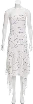 Dion Lee Sleeveless Silk Dress