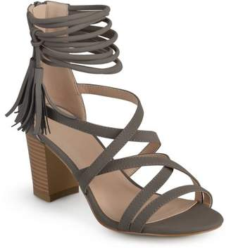 4b093d0239e7 Brinley Co. Womens Tassel Strappy High Heels