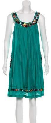 Sue Wong Sleeveless Knee-Length Dress w/ Tags