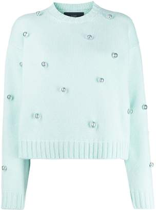 Alanui bead embellished jumper