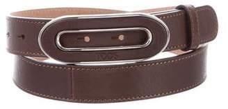Tod's Logo Buckle Belt w/ Tags