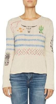 Saint Laurent Arizona Print Sweater