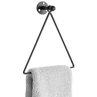 Modern Wall Mounted Triangle Metal Bathroom Kitchen Hand Towel Bar Rack