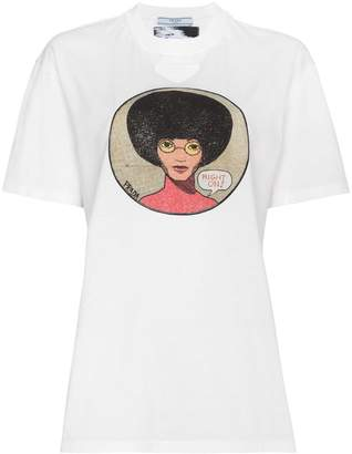Prada Afro Right On t shirt