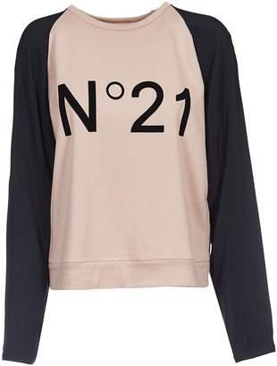 N°21 N.21 Logo Contrast Sweatshirt