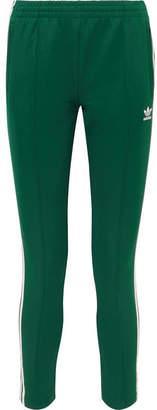 adidas Superstar Striped Satin-jersey Track Pants