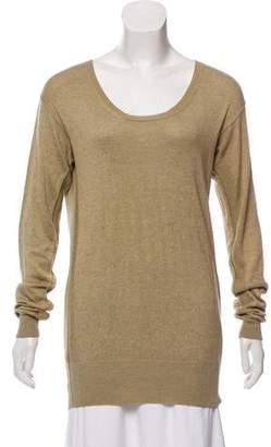 Loro Piana Silk Long Sleeve Sweater