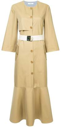 Tibi trench dress