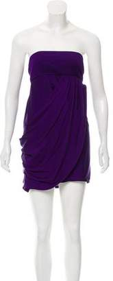 Alice + Olivia Silk Strapless Dress w/ Tags