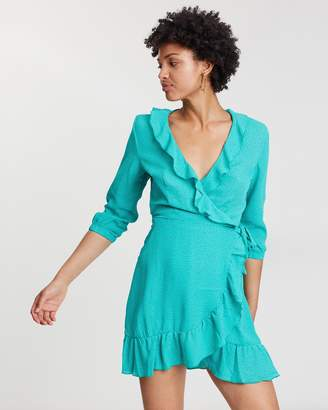 Only Pippa Long Sleeve Short Dress