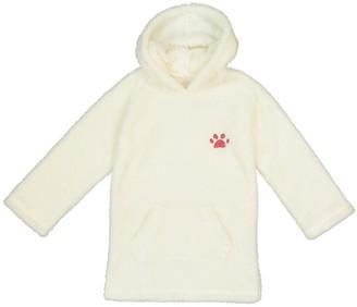 La Redoute COLLECTIONS Hooded Fleece Bathrobe 9e41afb6e