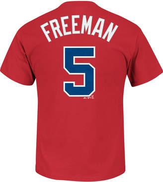 Majestic Men Freddie Freeman Atlanta Braves Official Player T-Shirt