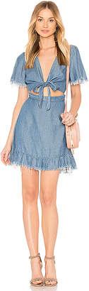 Show Me Your Mumu Melanie Ruffle Dress.