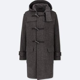 Uniqlo Men's Wool-blend Duffle Coat