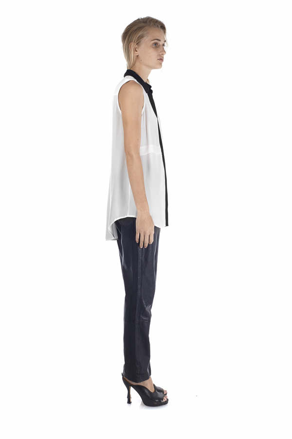 Marc by Marc Jacobs Karlie Leather Track Pant