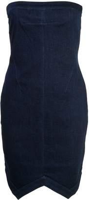 RtA strapless fitted mini dress