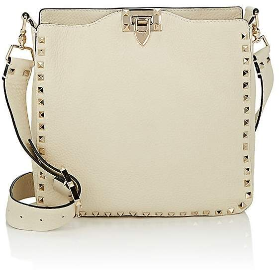 Valentino Garavani Women's Rockstud Small Leather Messenger Bag