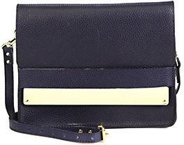 Sophie Hulme Metal Tab Shoulder Bag
