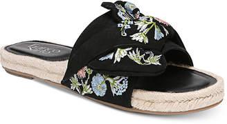 Franco Sarto Phantom Platform Espadrille Slip-On Sandals Women Shoes