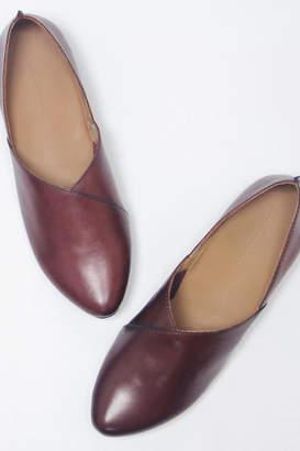 Yuko Imanishi Leather Ballet Flat