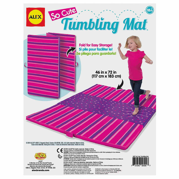 Alex ALEX TOYS Alex Toys Active Play So Cute Tumbling Mat Discovery Toy