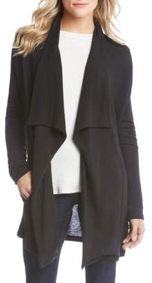 Karen Kane Drape Front Pocket Sweater