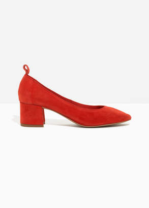 And other stories Suede Ballet Pump