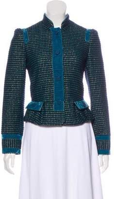 Marc Jacobs Wool Textured Blazer