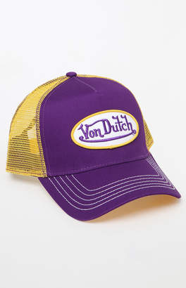 Von Dutch 208 Two-Tone Snapback Trucker Hat