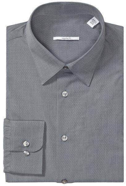 Point Collar Dress Shirt - Long Sleeve (For Men)