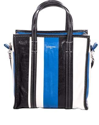 Balenciaga Bazar Small Bag In Arena Leather