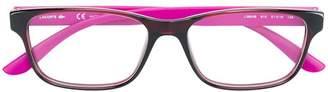 Lacoste square glasses