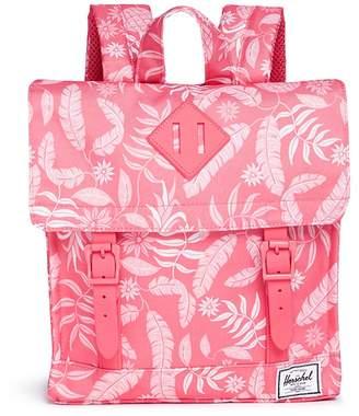 The Herschel Supply Co. Brand 'Survey' hawaiian print canvas 5.5L kids backpack